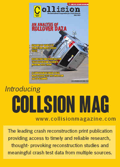 Collision Magazine - Accident Reconstruction Research